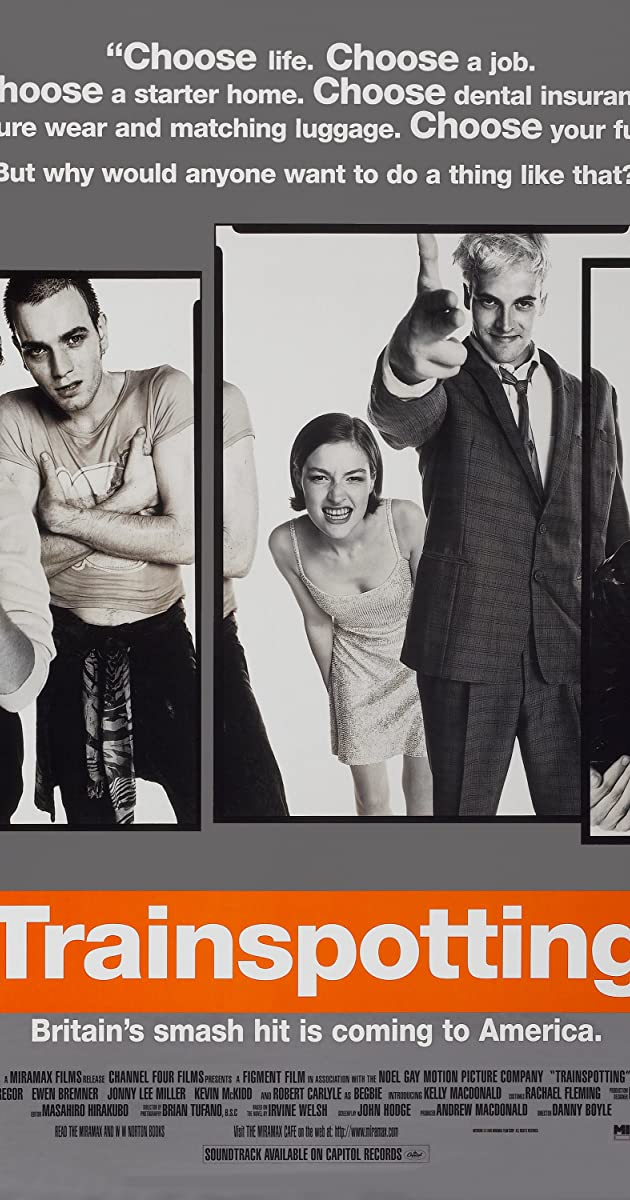 Trainspotting 1996 Ewan Mcgregor As Renton Imdb