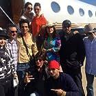 Abhishek Bachchan, Shah Rukh Khan, Boman Irani, Sonu Sood, and Deepika Padukone in Happy New Year (2014)
