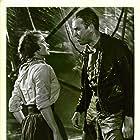 James Stewart and Joanne Dru in Thunder Bay (1953)