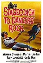 Stagecoach to Dancers' Rock Poster