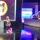 """(2010)  Kate Scott performing comedy for a LIVE TV audience on game show """"Catch 21"""" hosted by Alfonso Ribeiro"""