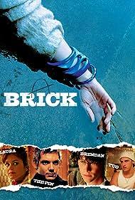 Lukas Haas, Noah Fleiss, Joseph Gordon-Levitt, and Nora Zehetner in Brick (2005)