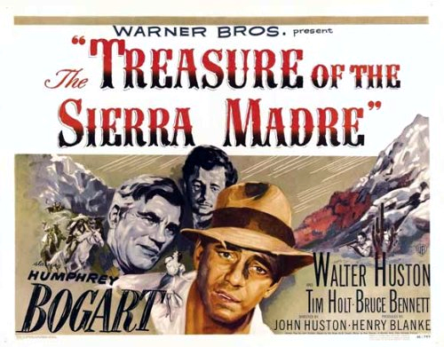 Humphrey Bogart, Tim Holt, and Walter Huston in The Treasure of the Sierra Madre (1948)