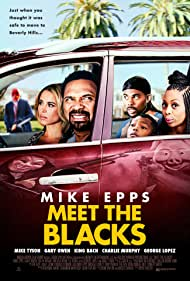 Mike Epps, Lil Duval, Zulay Henao, Bresha Webb, and Alex Henderson in Meet the Blacks (2016)