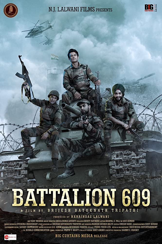 Battalion 609 (2019) Hindi HQ Pre-DvD 720p 700MB Download