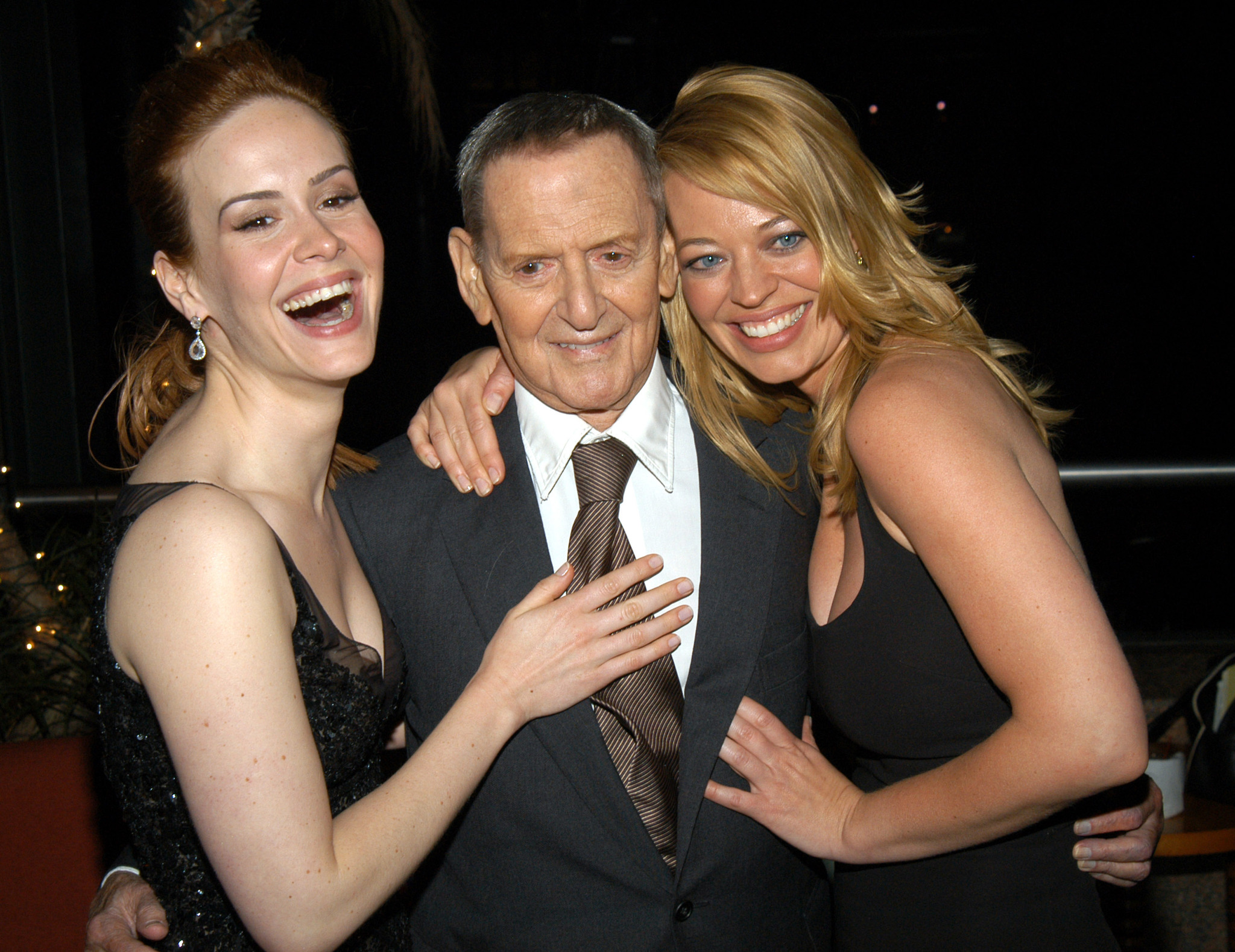 Sarah Paulson, Jeri Ryan, and Tony Randall at an event for Down with Love (2003)