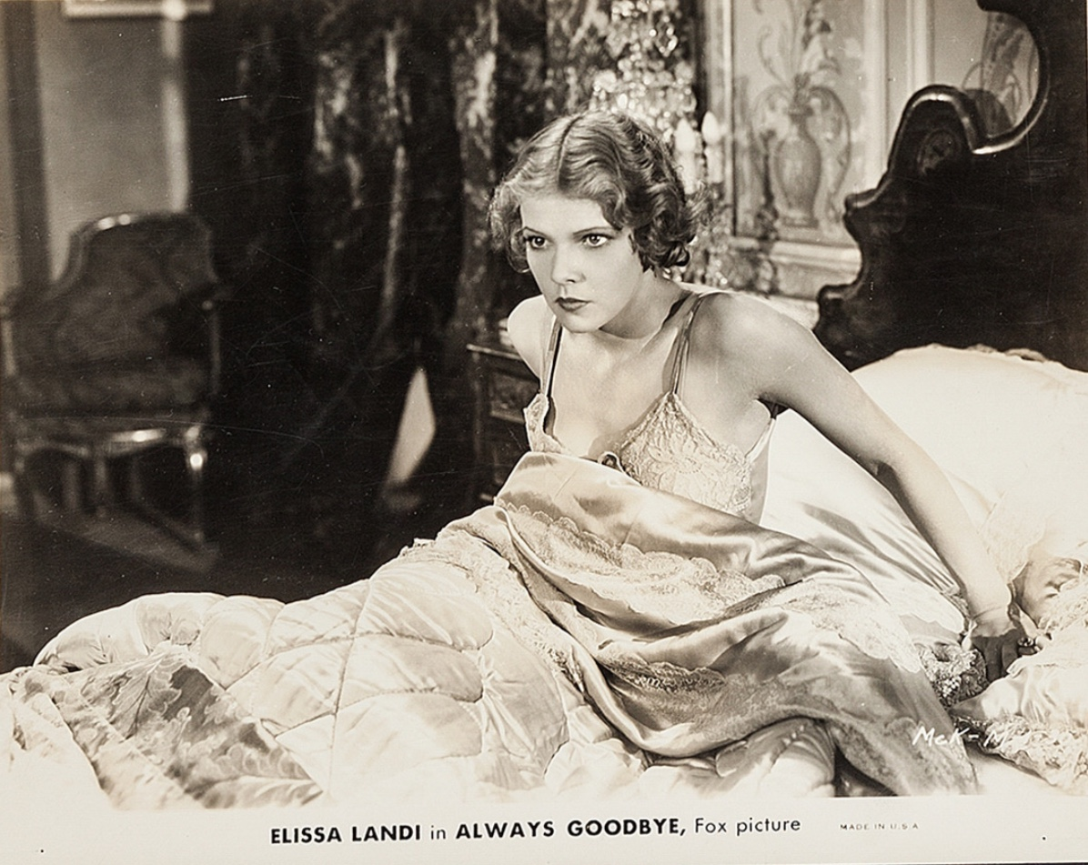 Elissa Landi in Always Goodbye (1931)