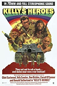 Dvd downloads free movie Kelly's Heroes by Brian G. Hutton [movie]