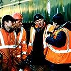 Thomas Craig, Joe Duttine, Andy Swallow, and Dean Andrews in The Navigators (2001)