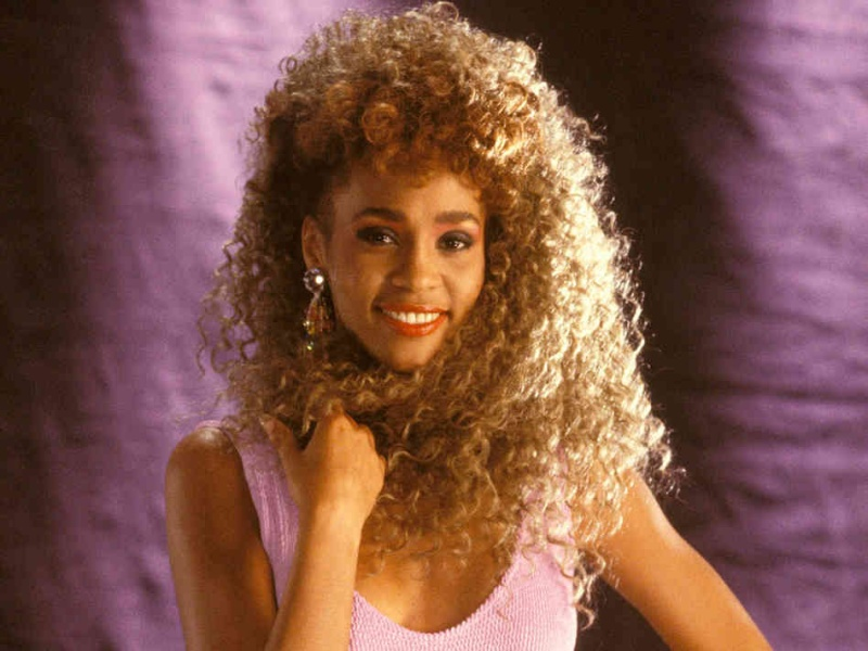 Image result for whitney houston 1987