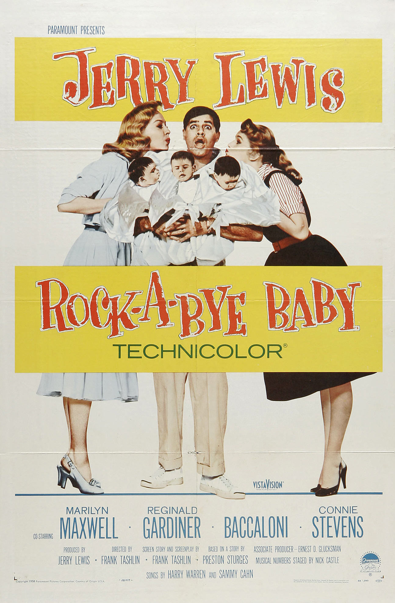 Image result for jerry lewis  rock-a-bye baby