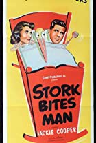 Stork Bites Man