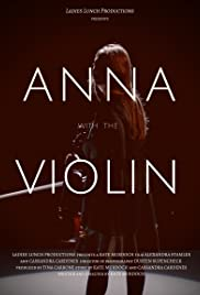 Anna with the Violin Poster
