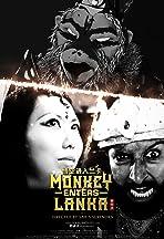 Monkey Enters Lanka