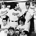 Tom Selleck and Ken Takakura in Mr. Baseball (1992)