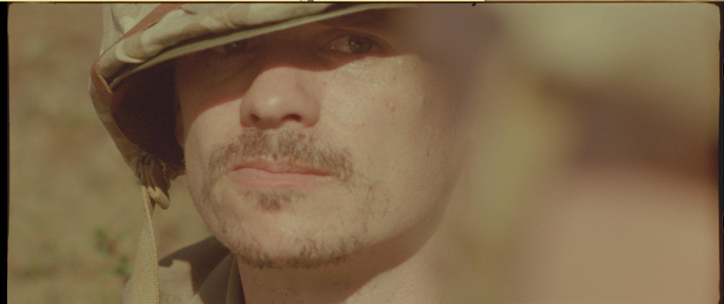 Aaron Jay Rome as Lou in Last Patrol on Okinawa