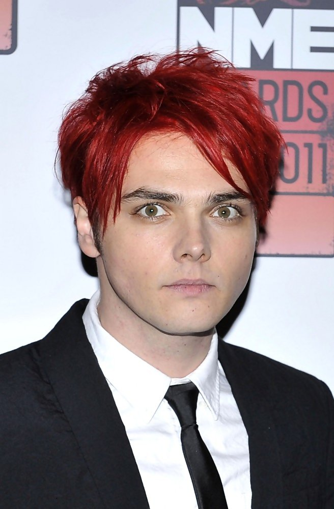 Gerard Way Green Hair