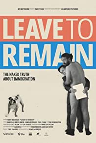 Primary photo for Leave to Remain