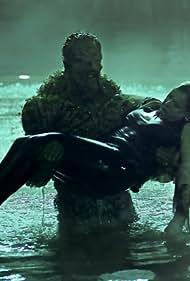 Virginia Madsen and Derek Mears in Swamp Thing (2019)