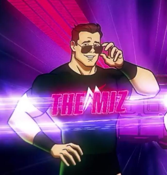 Mike 'The Miz' Mizanin in Scooby-Doo! and WWE: Curse of the Speed Demon (2016)
