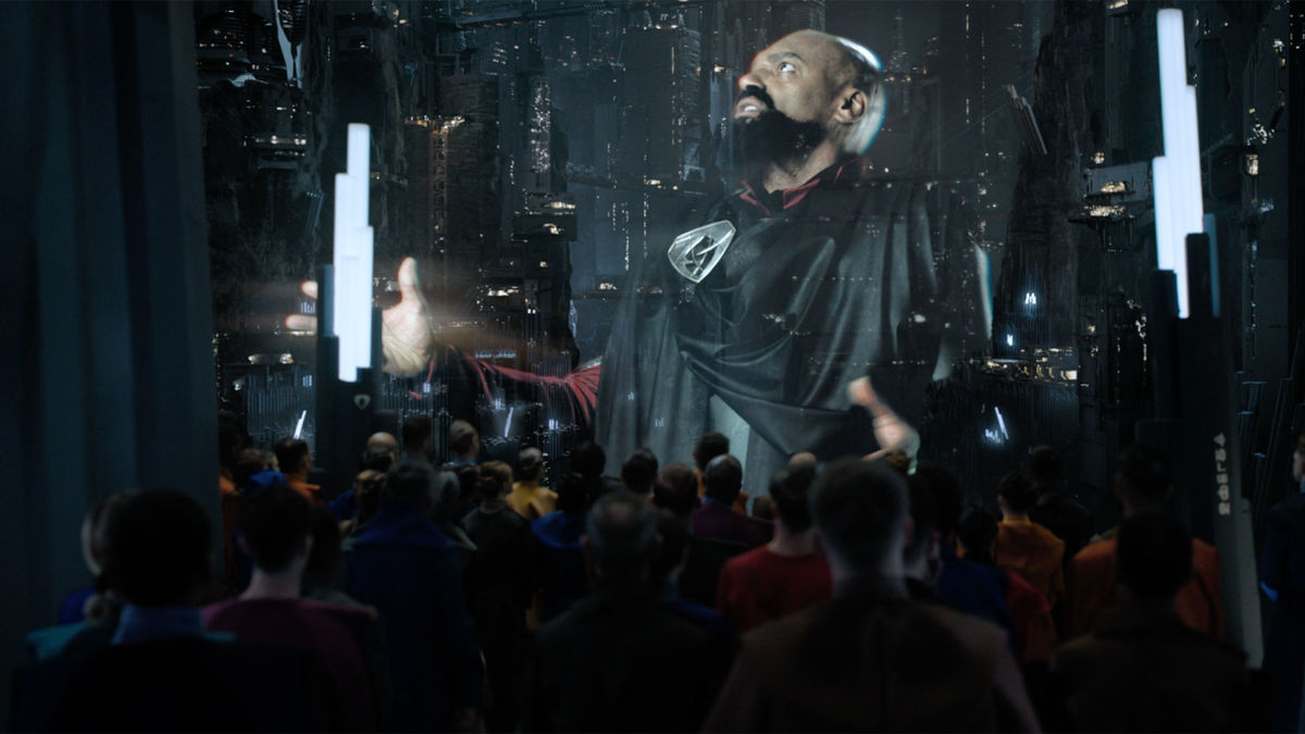 Colin Salmon in Krypton (2018)