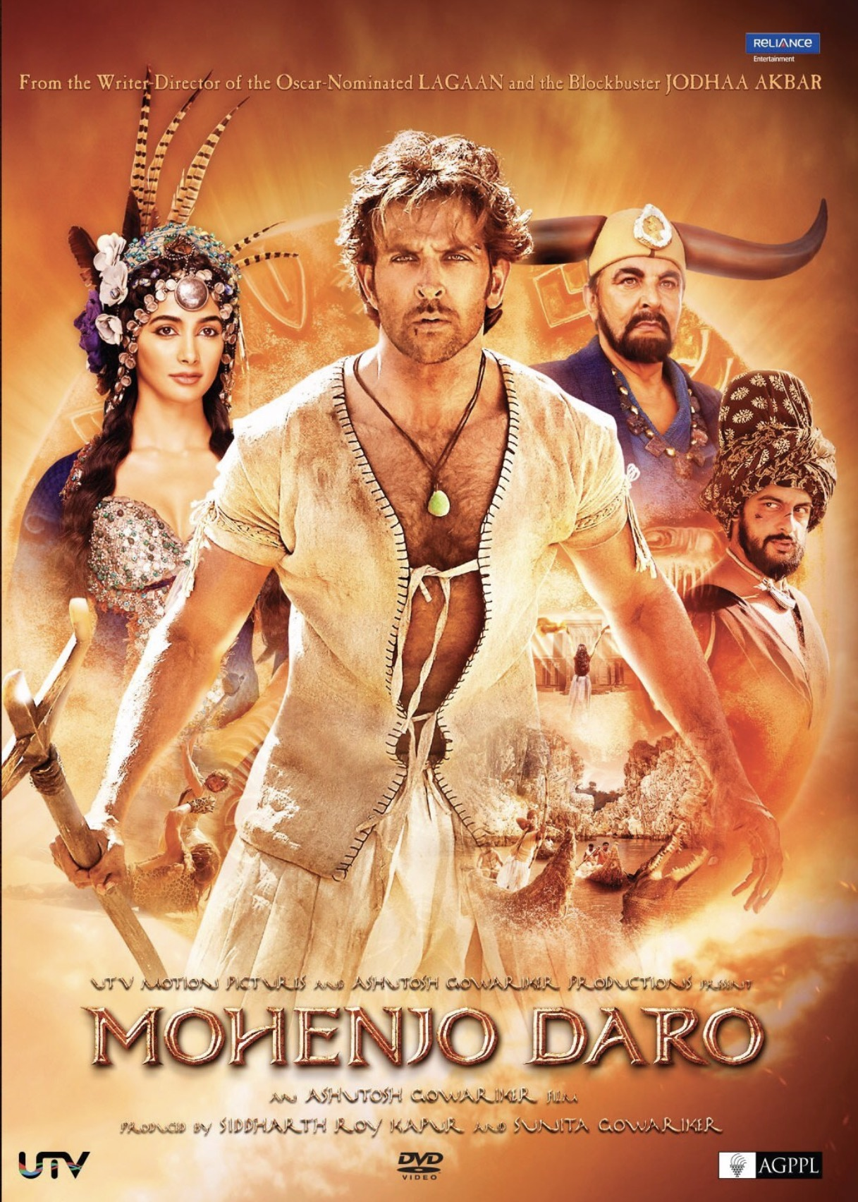 Mohenjo Daro 2016 Hindi Movie 720p HDRip x264 AAC 900MB Download