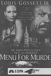 Ray Alexander: A Menu for Murder Poster