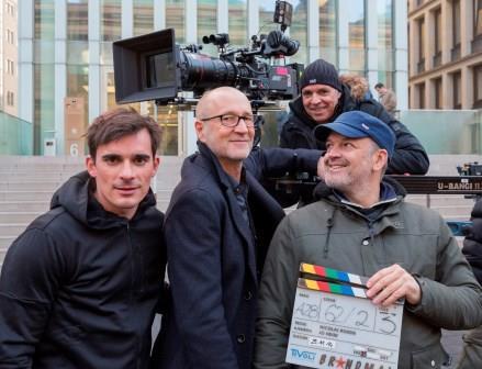 Jo Heim, Peter Lohmeyer, Nicolai Rohde, and Hannes Wegener in Brandmal (2015)