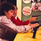Danny DeVito and Rhea Perlman in The Ratings Game (1984)