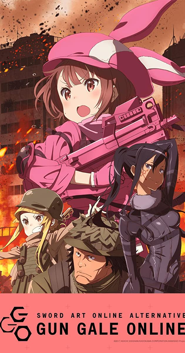 Download Sword Art Online: Alternative Gun Gale Online or watch streaming online complete episodes of  Season 1 in HD 720p 1080p using torrent