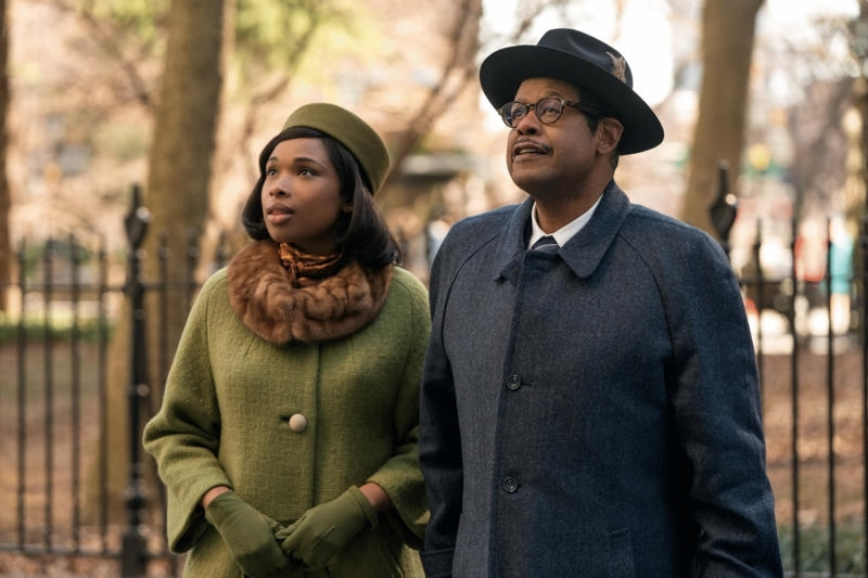 Forest Whitaker and Jennifer Hudson in Respect (2020)