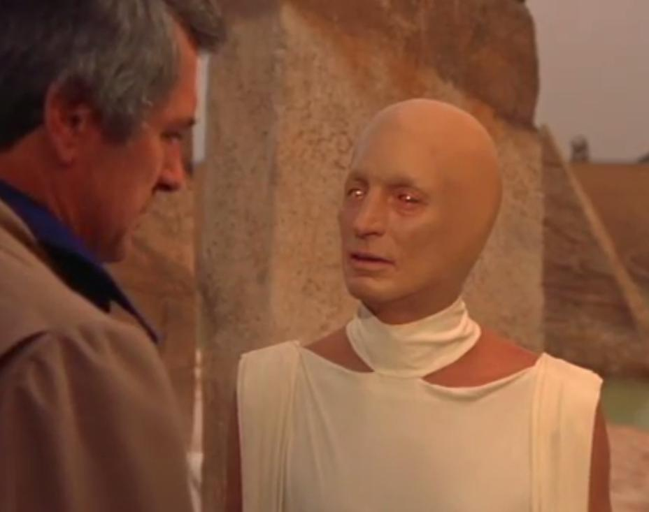 Rock Hudson in The Martian Chronicles (1980)