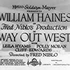 Way Out West (1930)