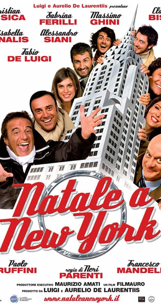 Film Natale.Natale A New York 2006 Imdb
