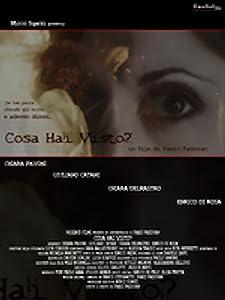Filmer torrent gratis nedlasting nettsteder Cosa hai visto [mpeg] [480p] Italy by Fabio Padovan