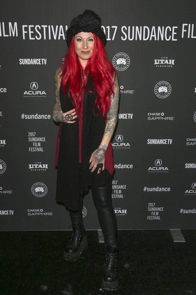 Jovanka Vuckovic at the premiere of XX at The Sundance Film Festival, 2017.