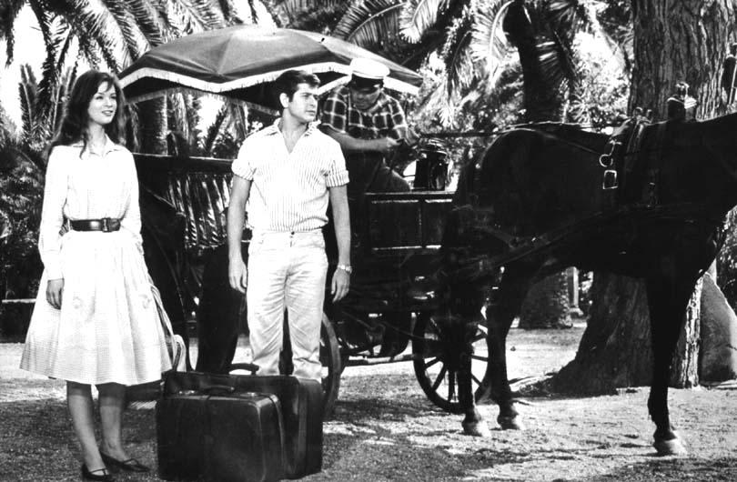 Corrado Pani and Marie Versini in Il peccato degli anni verdi (1960)