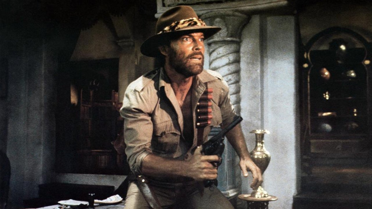 Richard Chamberlain in King Solomon's Mines (1985)