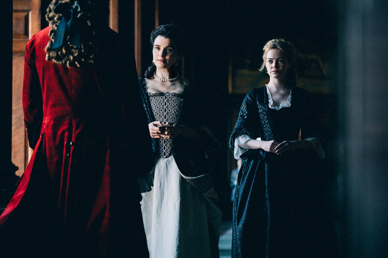 Rachel Weisz and Emma Stone in The Favourite (2018)
