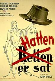 Hatten er sat Poster