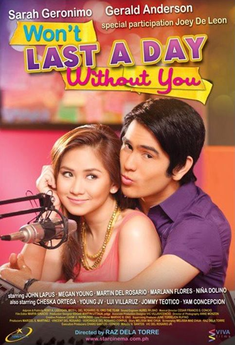 Wont Last a Day Without You (2011)Full Movie DVD