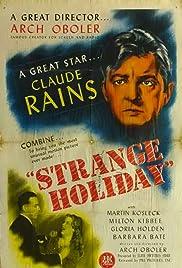 Strange Holiday (1945) starring Claude Rains on DVD on DVD