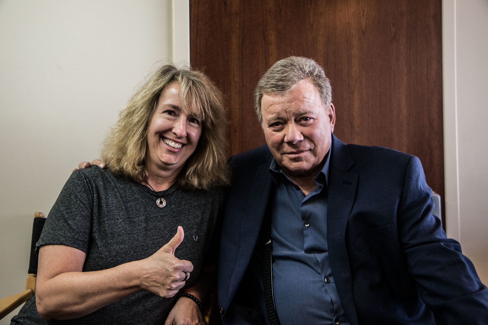 William Shatner and Gina G. Goff in Senior Moment (2021)