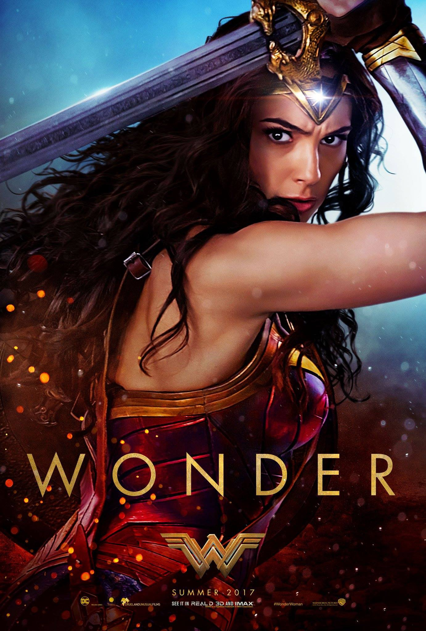 Wonder Woman (2017) Dual Audio Hindi HQ 450MB BluRay 480p ESubs Download