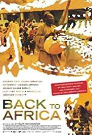 Back to Africa Poster