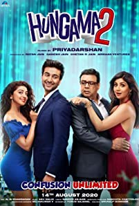 Paresh Rawal, Shilpa Shetty Kundra, Meezaan Jafri, and Pranitha in Hungama 2 (2020)