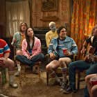 Michael Ian Black, Marguerite Moreau, Zak Orth, and Paul Rudd in Wet Hot American Summer: First Day of Camp (2015)