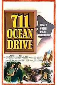 Joanne Dru and Edmond O'Brien in 711 Ocean Drive (1950)