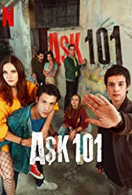 Kaan Urgancioglu, Mert Yazicioglu, Alina Boz, Pinar Deniz, Kubilay Aka, Selahattin Pasali, and Ipek Filiz Yazici in Ask 101 (2020)
