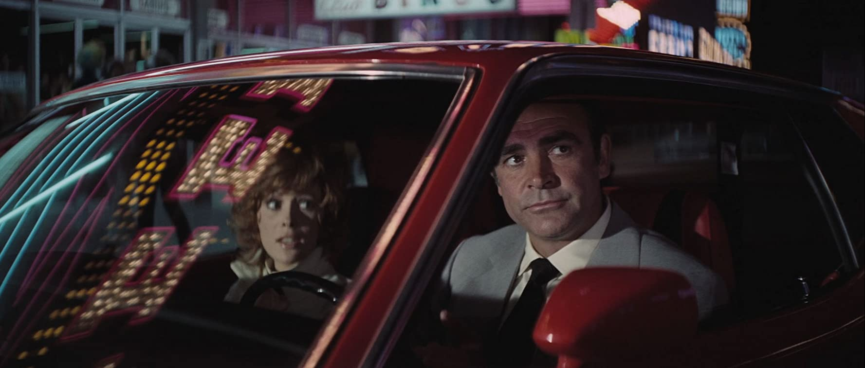 Sean Connery and Jill St. John in Diamonds Are Forever (1971)